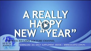 "Ed Lapiz - A REALLY HAPPY NEW ""YEAR""  /Latest Sermon Review New Video (Official Channel 2020)"
