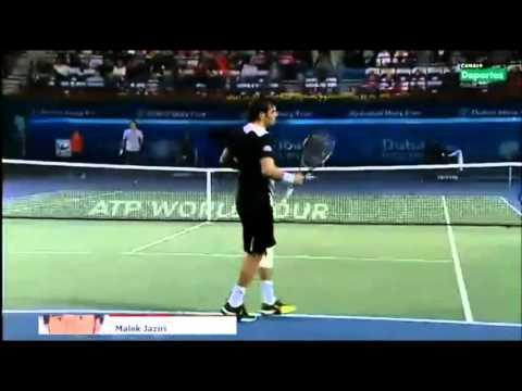 Roger Federer vs Malek Jaziri Full Match Highlights ATP Dubai Open 2013by-haj.mp4