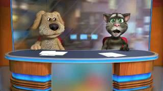"Talking Tom & Ben News sings ""We Will Rock You"""