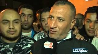 فيديو .. ماذا قالت جماهير وفاق سطيف الجزائري بعد نهاية مباراة الرجاء؟