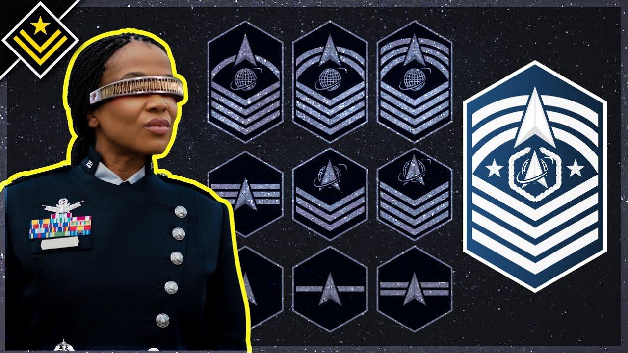 New U.S. Space Force Rank Insignia