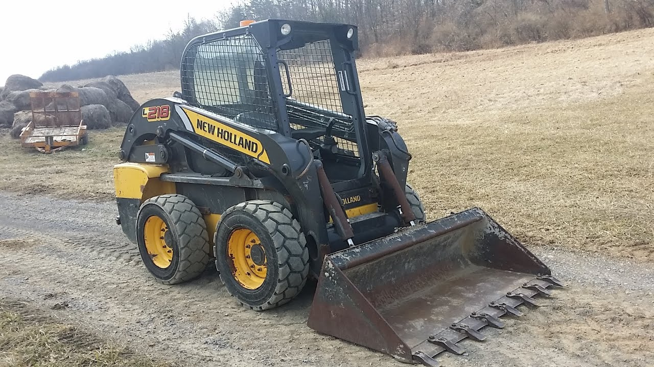2011 New Holland L218 Skid Steer Loader! - YouTube New Holland L Wiring Diagram on