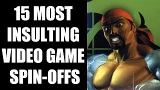 15 Most INSULTING Video Game Spin-offs
