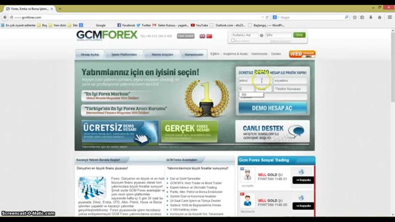 Gcm forex demo giris