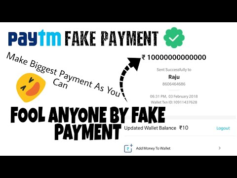 Fake PAYTM Payment Spoof With Fool Your Friend🔥🔥 - YouTube