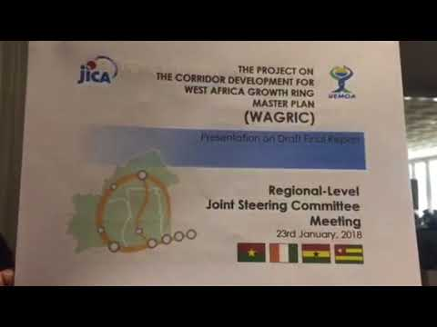 The Project on the Corridor for West Africa Growth Ring .Regional Meeting Summary 23rd January 2018