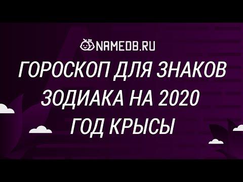 Гороскоп для знаков Зодиака на 2020 год Крысы