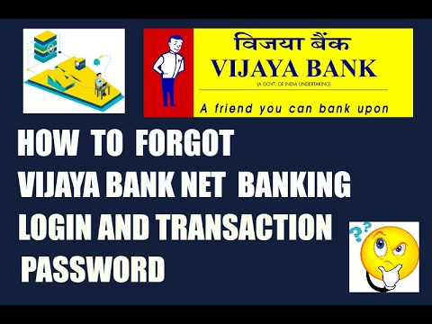 how to do net banking in vijaya bank