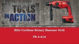 Hilti Cordless Rotary Hammer Drill TE 2-A18