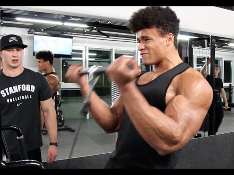 'Austrian Oak 2.0' - Natural Bodybuilder Onome Egger and Erik Anderson Ep.1 Road to 21' guns