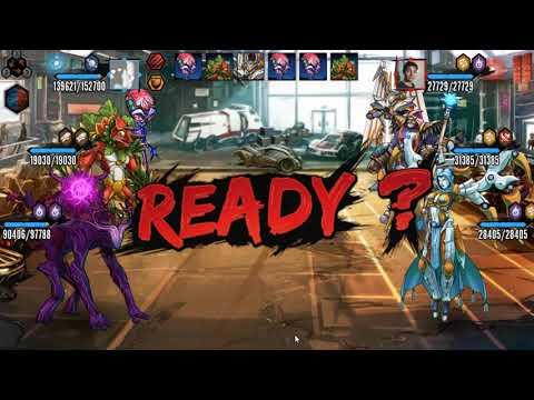 Mutants Genetic Gladiators - Cabezoncito desea ser fase dios