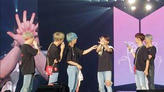 190324 Ending Talk (Jungkook's hand trick) @ 방탄소년단 BTS Love Yourself in Hong Kong HK 2019 Day 4 thumbnail