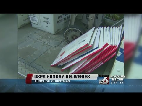 USPS Sunday deliveries