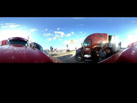 360 Degree Trucking View.   Met Up With Saint4real 4real And Stevebrooks From YTTA