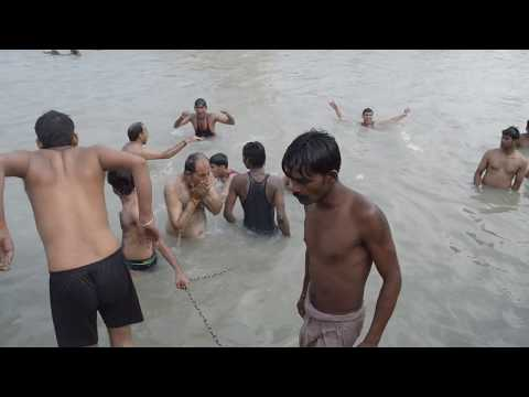 Ganga snan ( OPEN BATH )...