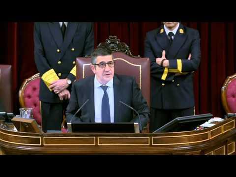 Discurso de Patxi López en la constitución del Congreso de los Diputados