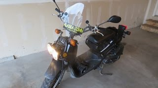 2016 HONDA RUCKUS FIRST START
