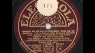 """Haller-Revue 1927/28 """"Wann und wo"""""""