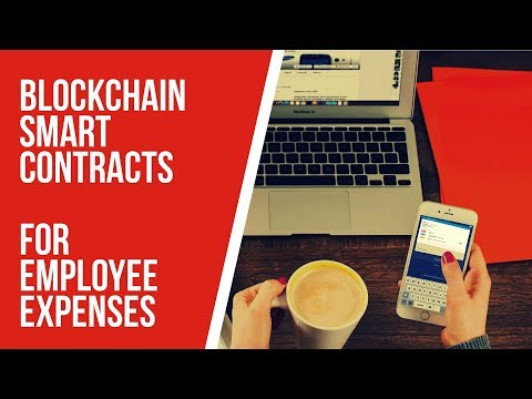 Using Oracle Blockchain Smart Contracts for Employee Expenses