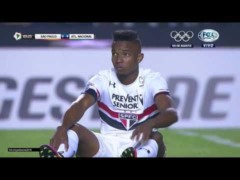 SAO PAULO vs ATL NACIONAL -  semifinal ida 6/07/2016