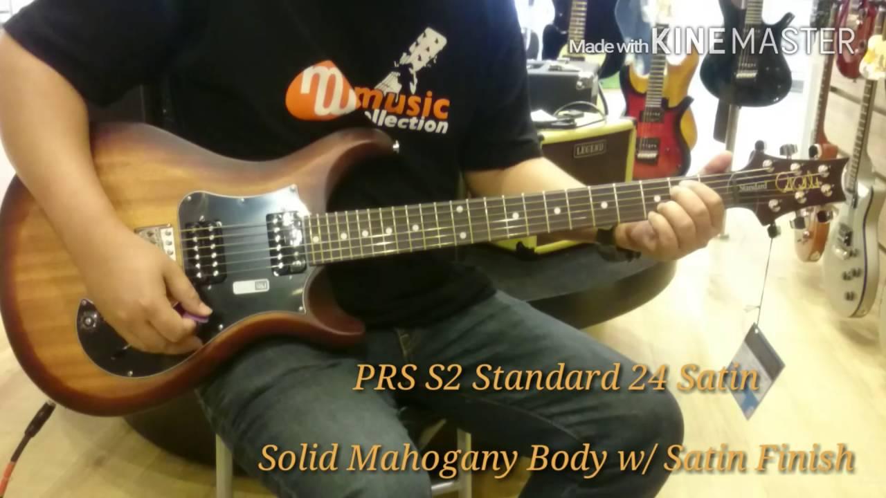 prs s2 standard 22 satin 2017