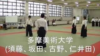第八回相生道愛知県大会 「多敵競技」-優勝チーム-