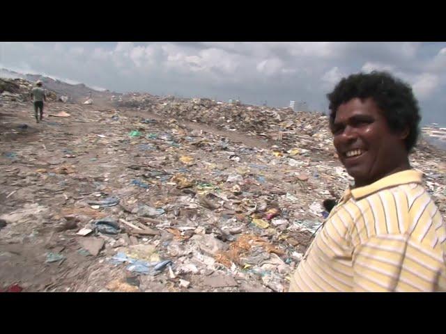 Ils vivent sur l'île poubelle des Maldives