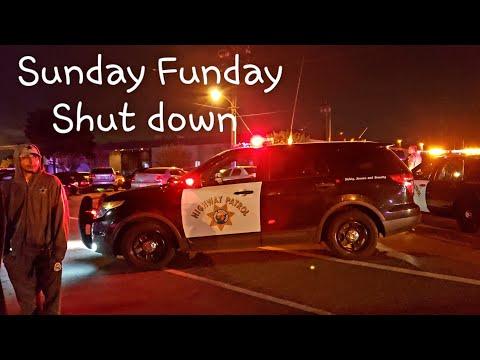 Blocked in at Sunday Funday