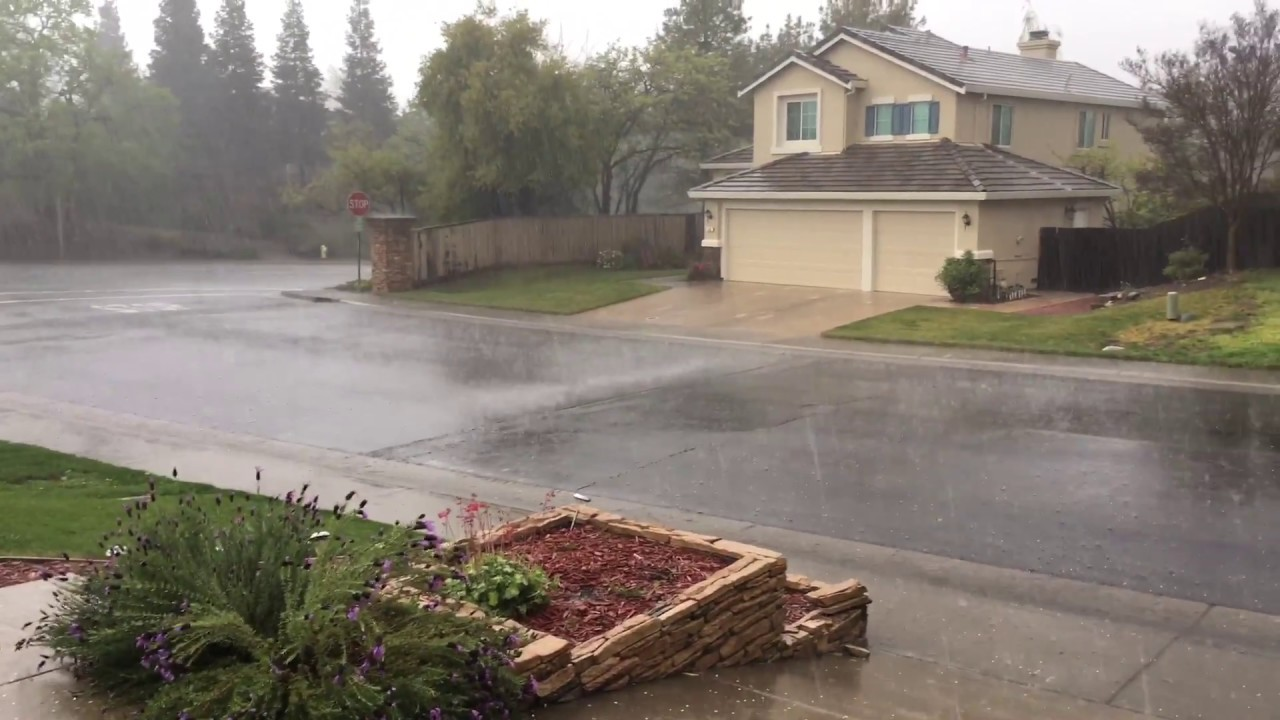 A Little Weather In Folsom Ca 3 21 17