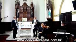 Concert Eventos Marcha Nupcial Violino Piano e Clarins