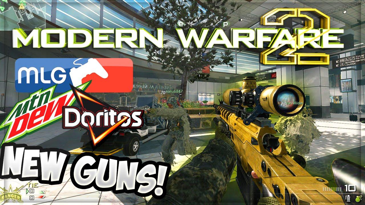 MW2 NEW GUNS! MLG QUICKSCOPES FAZE TEDDY (Call Of Duty Funny