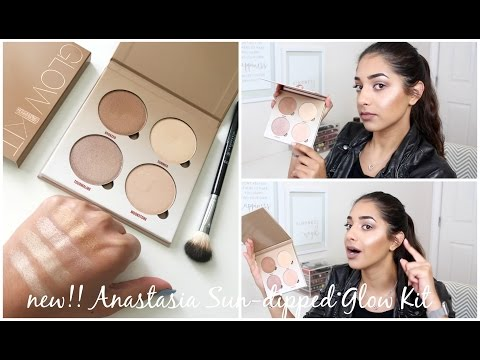 FIRST LOOK: NEW!! Anastasia Beverly Hills SUN DIPPED Glow Kit || Eliana Jalali