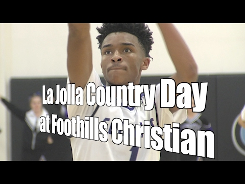La Jolla Country Day at Foothills Christian, 2/8/17