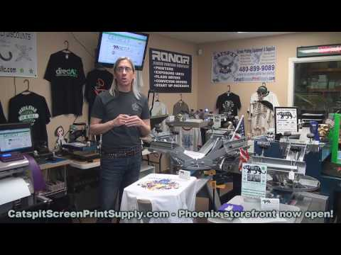 Phoenix Screen Printing Equipment And Supplies Store