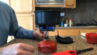 Primus Classic Backpacking Stove Demo