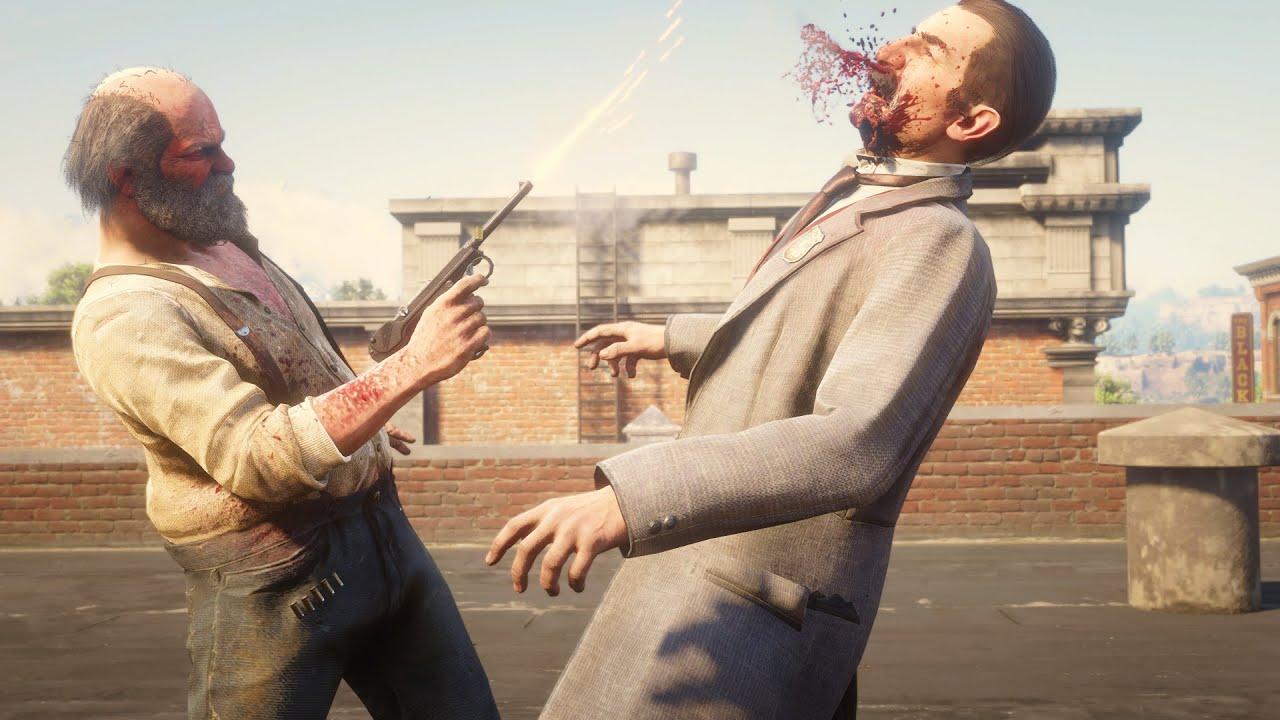 Download Uncle vs Edgar Ross Duel Red Dead Redemption 2 NPC Fights Battle Creator Mod