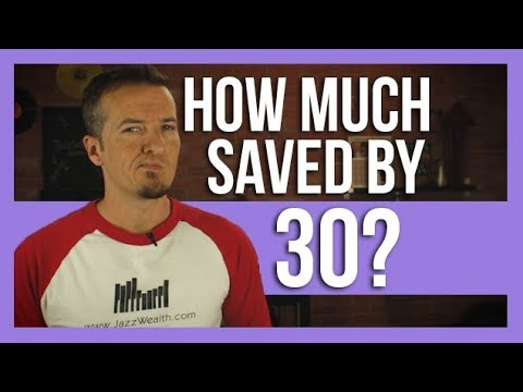 How much you should have saved for retirement by 30