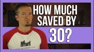 How much you should have saved for retirement by 30.