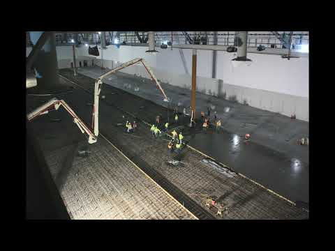 Las Vegas Convention Center concrete pour