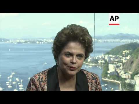 ONLY ON AP: Rousseff on Silva's conviction