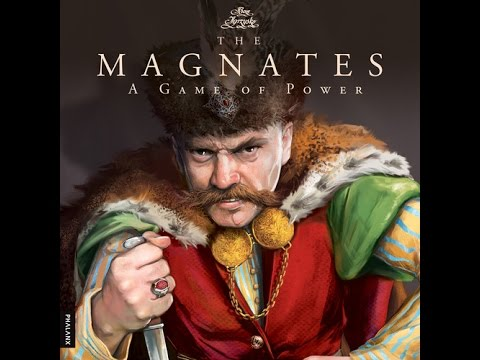 The Magnates review - Board Game Brawl