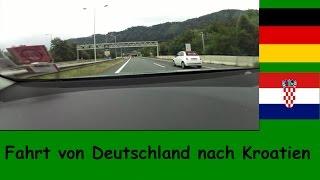 Meine Autofahrt von Deutschland nach Kroatien 2015