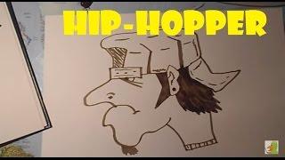 Lær at tegne EN HIP-HOPPER | HVORDANTEGNERJEG.DK