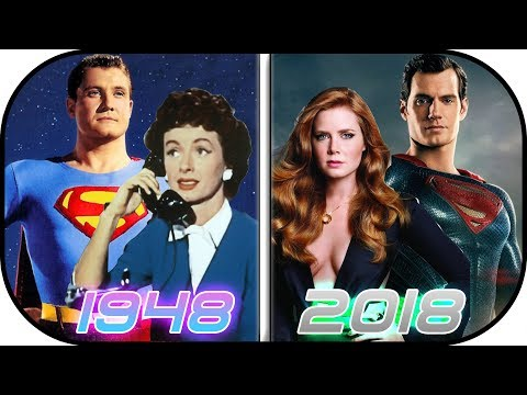 EVOLUTION of Lois Lane in Movies & TV 19482018 Lois Lane Clark Kent Superman History