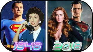 EVOLUTION of Lois Lane in Movies & TV (1948-2018) Lois Lane Clark Kent Superman History