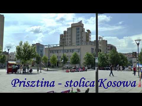 Prisztina - stolica Kosowa. Pristina - capital of Kosovo