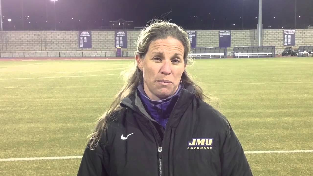 743e70129 2015 JMU Women s Lacrosse - Klaes-Bawcombe Postgame Virginia - March ...
