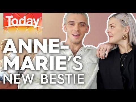 Anne-Marie Jokes Around With Her New Bestie   Today Show Australia