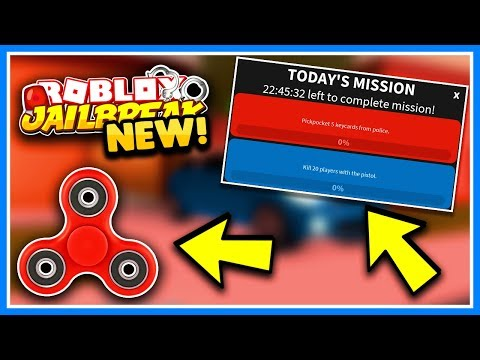 ROBLOX JAILBREAK FIDGET SPINNER MISSIONS!!