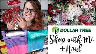 DOLLAR TREE | SHOP WITH ME + HAUL | VALENTINE